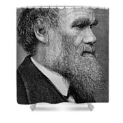 Charles Darwin Shower Curtain