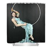 Charles Hall - Creative Arts Program - New Moon Shower Curtain