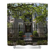 James Simmons House Shower Curtain