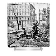 Charleston Ruins, 1865 Shower Curtain