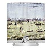 Charleston, S.c., 1739 Shower Curtain