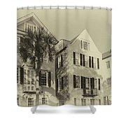 Charleston Style Houses Shower Curtain