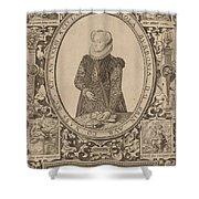 Charlotte Of Bourbon Shower Curtain