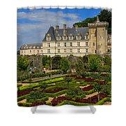 Chateau De Villandry Shower Curtain