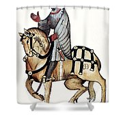 Chaucer: Canterbury Tales Shower Curtain