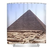 Cheops Pyramid - Egypt Shower Curtain
