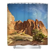 Chesler Sunset Shower Curtain