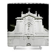 Chiaroscuro Christianity Shower Curtain