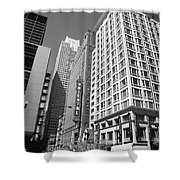 Chicago Downtown Shower Curtain