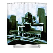 Chicago Federal Building 540 3 Shower Curtain