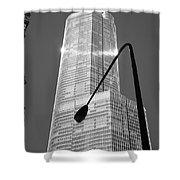 Chicago Skyscraper Shower Curtain