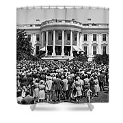 Chief Justice Fred Vinson Shower Curtain
