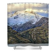 Chilean Fjords Chile Shower Curtain