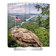 Chimney Rock State Park Shower Curtain