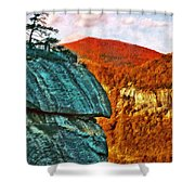 Chimney Rock Shower Curtain