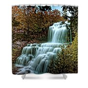 Chittanengo Falls Shower Curtain