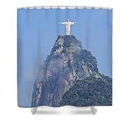 Christ The Redeemer, Rio De Janeiro Shower Curtain