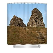 Christchurch Castle Shower Curtain