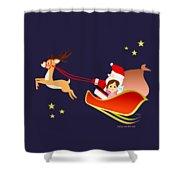 Christmas #3 Shower Curtain