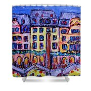 Christmas Market In Mainz Shower Curtain