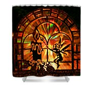 Christmas Wishes Shower Curtain