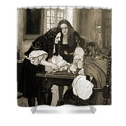 Christopher Wren Injects Drugs Shower Curtain