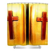 Church Doors Shower Curtain