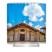 Church In San Javier, Bolivia Shower Curtain