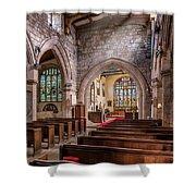 Church Light Shower Curtain