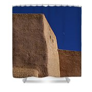 Church Taos Nm Shower Curtain