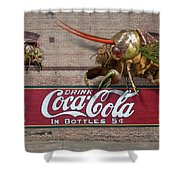 Cicada Turf War Shower Curtain