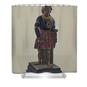Cigar Store Indian Shower Curtain