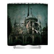 Citadel Shower Curtain by Andrew Paranavitana