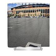 Citi Field - New York Mets Shower Curtain by Frank Romeo