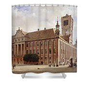 City Hall At Thorn Shower Curtain