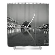 City Of Arts And Sciences Shower Curtain