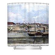 Civil War: Union Steamer Shower Curtain