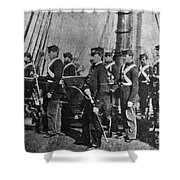 Civil War: Uss Kearsarge Shower Curtain