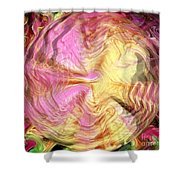Clairvoyance Shower Curtain