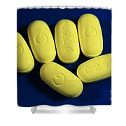 Clarithromycin Shower Curtain