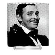 Clark Gable As Rhett Butler Gone With The Wind 1939-2015 Shower Curtain