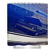Classic Car Reflection Shower Curtain