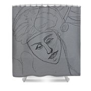 Classical Shower Curtain