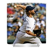 Clayton Kershaw, Los Angeles Dodgers Shower Curtain