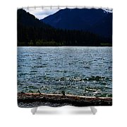 Clear Lake Washington Shower Curtain