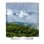 Clearing Storm West Virginia Highlands Shower Curtain