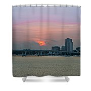 Clearwater At Sunrise Shower Curtain