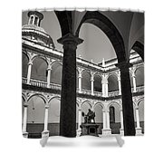Cloister Real Colegio Seminario Del Corpus Christi Shower Curtain