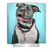 Clooney Shower Curtain
