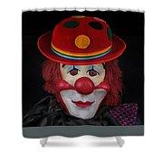 The Clown 3 Shower Curtain